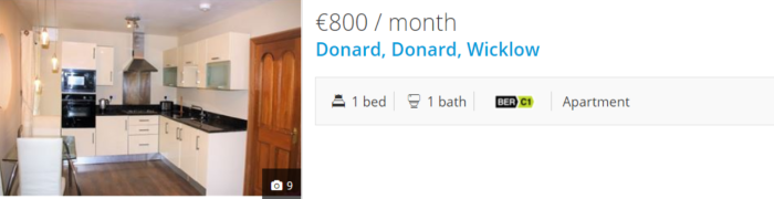 1 bed donard